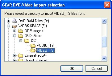 Import Video TS