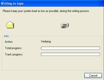 Verifying tape