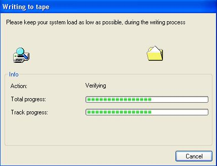 Verifying Tape 2