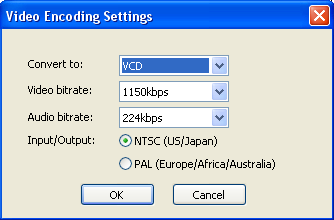 Video Encoding Settings